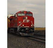 CP 8954..I'm going off the rails on a crazy train Photographic Print
