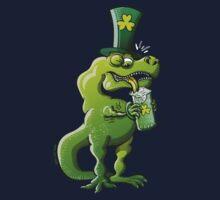 Saint Patrick's Day Tyrannosaurus Rex Kids Tee