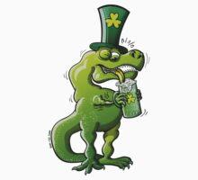 Saint Patrick's Day Tyrannosaurus Rex Kids Clothes