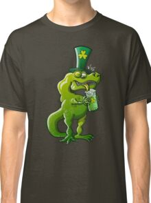 Saint Patrick's Day Tyrannosaurus Rex Classic T-Shirt