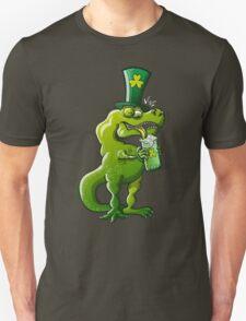 Saint Patrick's Day Tyrannosaurus Rex T-Shirt