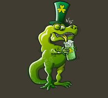 Saint Patrick's Day Tyrannosaurus Rex Unisex T-Shirt