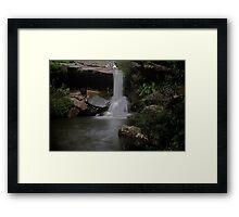 McCarrs Creek Falls Ku-ring-Gai National Park Framed Print