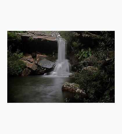 McCarrs Creek Falls Ku-ring-Gai National Park Photographic Print
