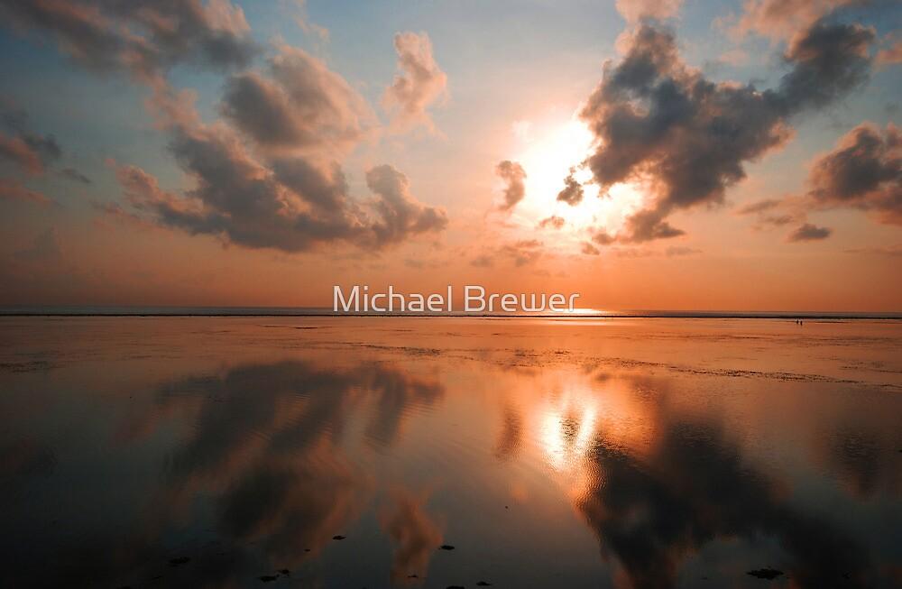 Bali sunrise by Michael Brewer