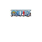 One Piece Logo White by shellsmile