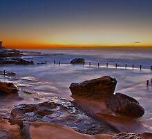 Mahon Pool Sunrise - Maroubra - NSW - Australia by Bryan Freeman