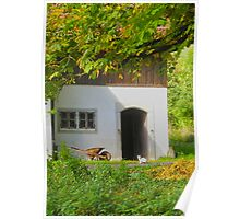 Cottage in Soloturn Poster