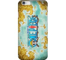 One Piece World Map iPhone Case/Skin