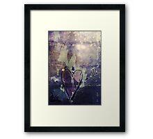 Icy Heart II Framed Print