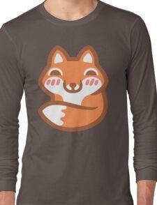 Cute Fox Long Sleeve T-Shirt