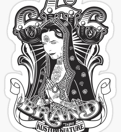 Miss Kitty Guadalupe Sticker