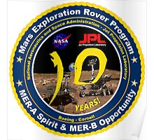 Mars Exploration Rover Mission (MER) @! 10 Poster