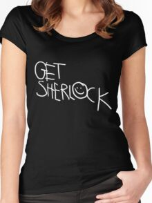 Get Sherlock Women's Fitted Scoop T-Shirt