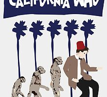 California Who Poster 2 by Jarrod Kamelski