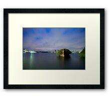 Homebush Bay Shipwreck Framed Print