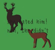 she hated him! nah, she didn't One Piece - Short Sleeve