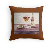 Leffe Blonde Birthday Throw Pillow