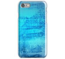 iPHONE BLUE GRUNGE iPhone Case/Skin