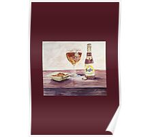 Leffe Blonde Card Poster