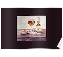 Leffe Blonde Greeting Poster