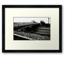 Empty Motorway Framed Print