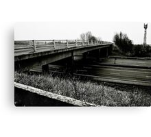 Empty Motorway Canvas Print
