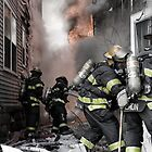 Firefighters In The Line Of Duty by Bryant Scannell