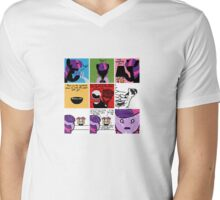 Cutie Night Blogsaders Mens V-Neck T-Shirt