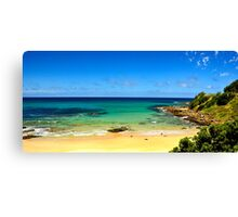 Great Ocean Road Wye River in summer Canvas Print
