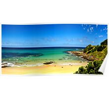 Great Ocean Road Wye River in summer Poster
