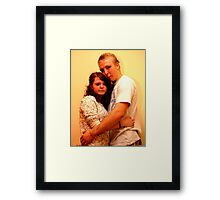 Liam & Kerry Framed Print