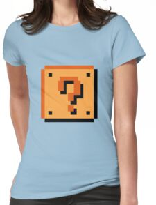 Question Brick Womens Fitted T-Shirt