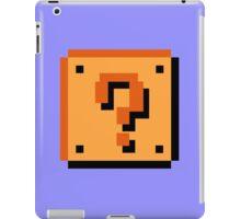 Question Brick iPad Case/Skin