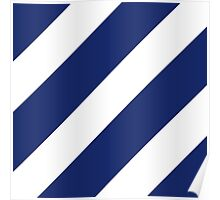 Third Infantry Division (3ID) Insignia Poster