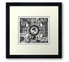 Vision Abstract Framed Print