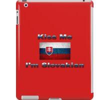 Kiss Me I'm Slovakian iPad Case/Skin