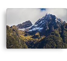 N.Z. Rugged Mountains 03 Canvas Print