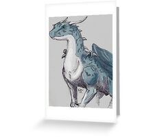 Biro Dragon Greeting Card