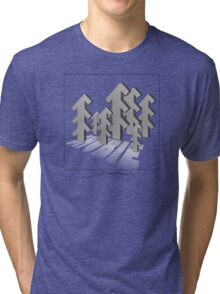 Shubie Shadow Forest Tri-blend T-Shirt