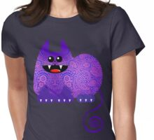 PAISLEY CAT Womens Fitted T-Shirt