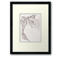 Feather Dragon Framed Print