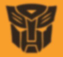 Halftone Autobot Symbol, Black by WUVWA