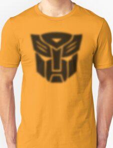 Halftone Autobot Symbol, Black T-Shirt