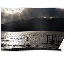 Lake Te Anau Sunset Poster