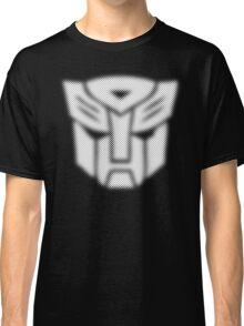 Halftone Autobot Symbol, White Classic T-Shirt
