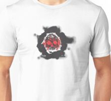 Death's-head red Unisex T-Shirt