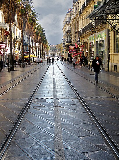 Winter in Montpellier France. by Paul Pasco