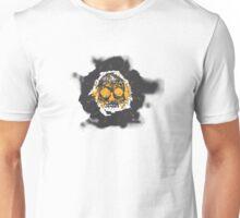 Death's-head orange Unisex T-Shirt