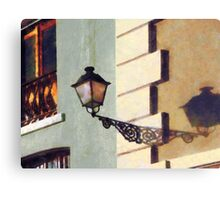 San Juan Street Lamp Canvas Print